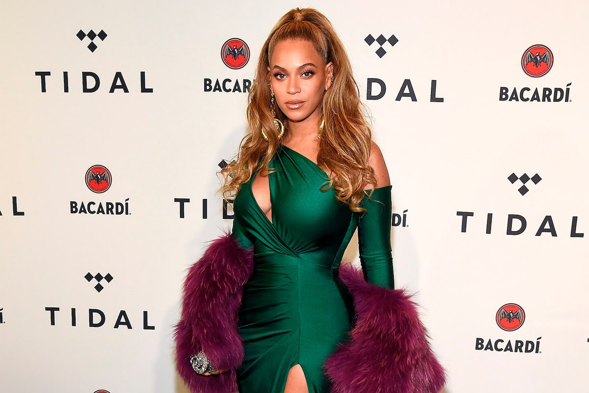 Beyoncé appeared at the TIDAL benefit concert for moral support, but did not perform.